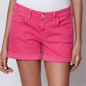 Anthro Pilcro & the Letterpress Pink Shorts Stet
